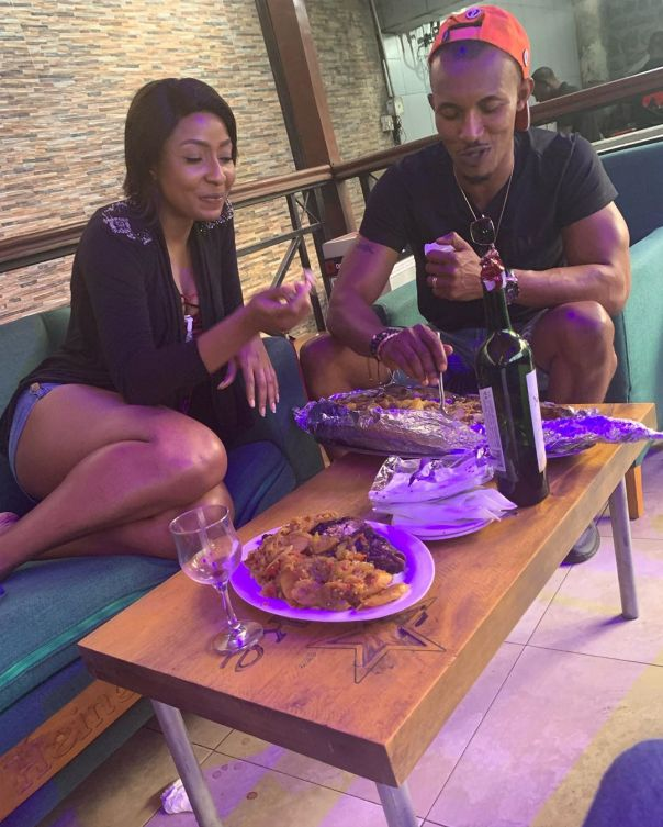 Belinda Effah And Gideon Okeke Hang Out (5) Amebo Book