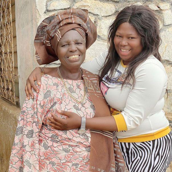 Ariyo Oluwakemisola Apesin Visits Grandma (2) Amebo Book