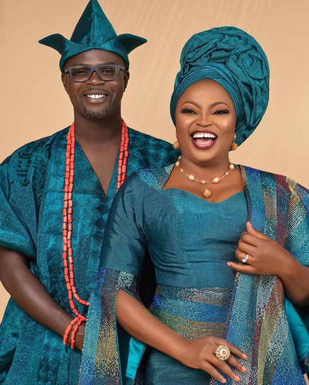 Funke Akindele Husband JJC Skillz 4th Year Wedding Anniversary (3) Amebo Book