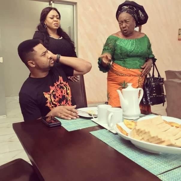 Patience Ozokwo Slaps Mike Godson House Husband (2) Amebo Book