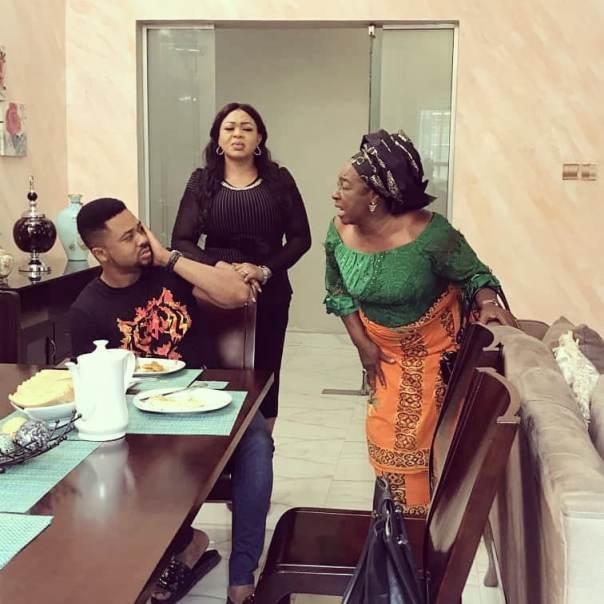 Patience Ozokwo Slaps Mike Godson House Husband