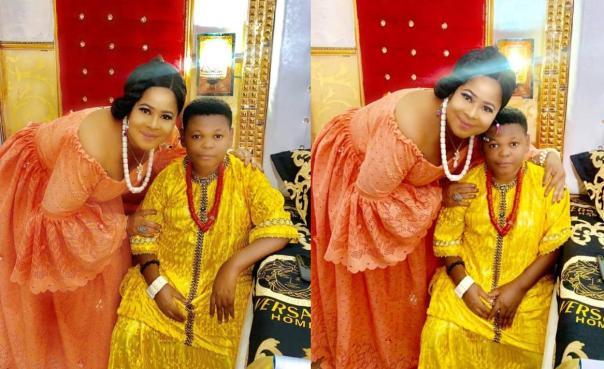 """Check Out These Beautiful On Set Photos Of Osita Iheme """"Pawpaw"""" And Ngozi Ezeh-Evuka"""