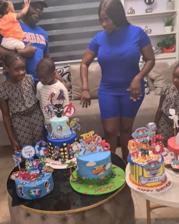 Mercy Johnson Son Henry Okojie 6th Birthday (2) Amebo Book