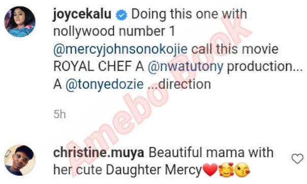 Mercy Johnson Number 1 In Nollywood Joyce Kalu (2)