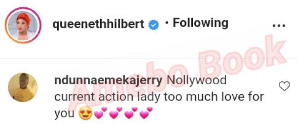 Queeneth Hilbert Current Action Lady In Nollywood (2)