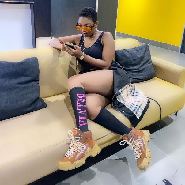 Ruth Kadiri Wants Annie Idibia Shoes (3) Amebo Book