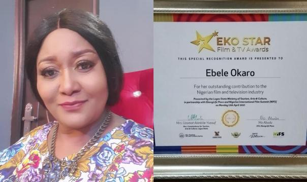 Ebele Okaro Eko Star Film & TV Awards - Amebo Book