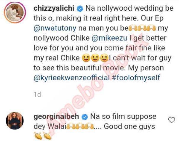 Mike Ezuruonye Fair And Fine Like Chizzy Alichi Real Husband (2)
