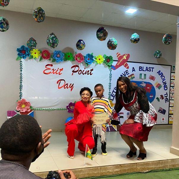 MOST GENEROUS PUPIL Award Tonto Dikeh Son (2)