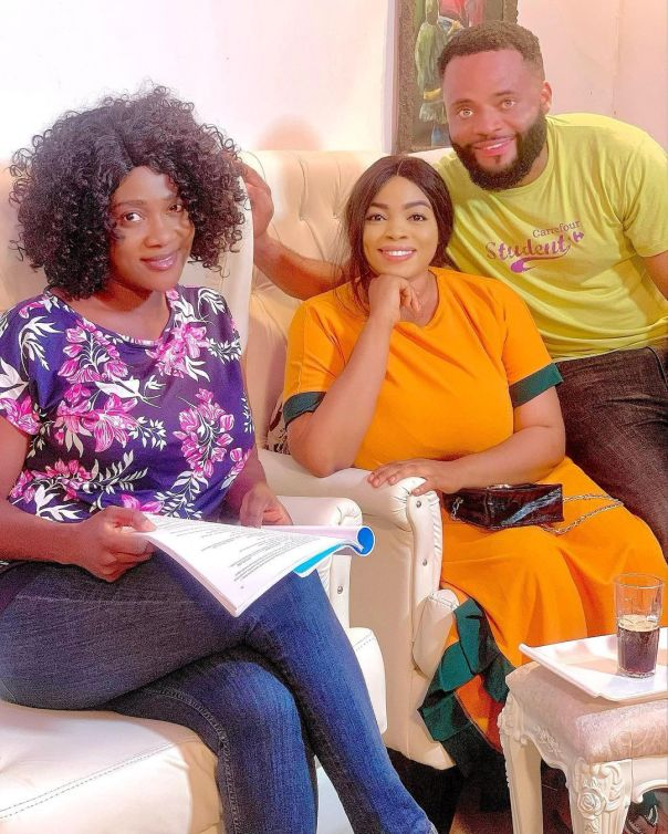 Nice Doing This Mind Blowing Movie With You Georgina Ibeh (3)
