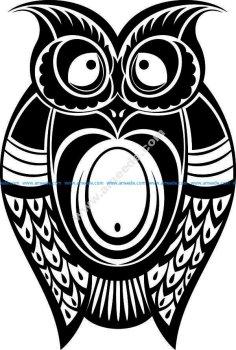 bird symbol cat owl