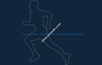 Runner dxf file