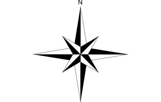 North Arrow Raised