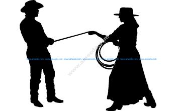 Cowgirl Cowboy