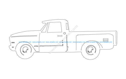 69 chev truck