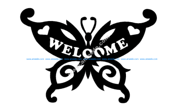 Butterfly Welcome