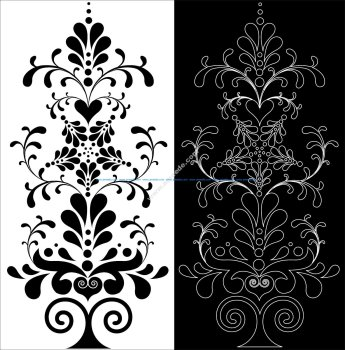 Decorative Floral Pattern
