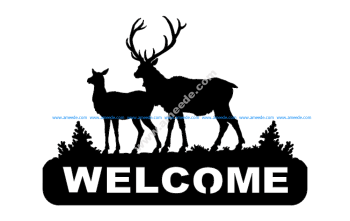 Deer 2 Welcomes