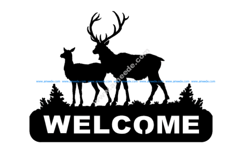 Deer 2 Welcomes