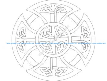 Derby Celtic Cross