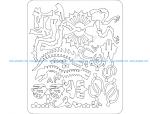 Dilophosaurus 3D Puzzle