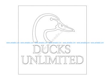 Ducks Unlimiteddxf