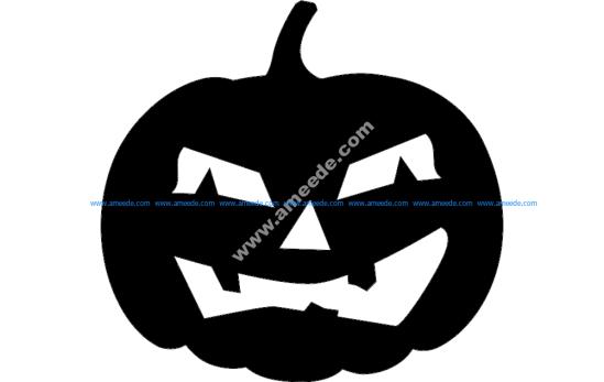 Pumpkin in Halloween holiday