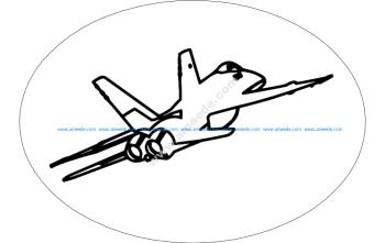 F-18 Aircraft