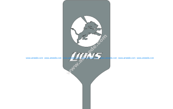 Lions Logo On Spatula