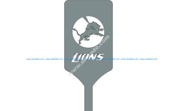 Lions Logo On Spatula