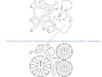 Triciclo 3D Puzzle
