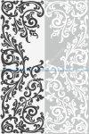 Abstract Floral Ornament Sandblast Pattern