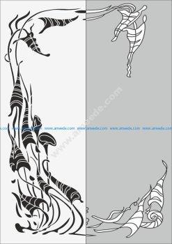 Abstract seamless pattern Sandblast Pattern