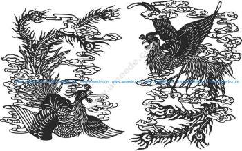 Ancient chinese phoenix