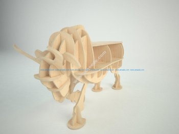 Bull New 3d puzzle