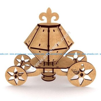 Carriage 3D Puzzle