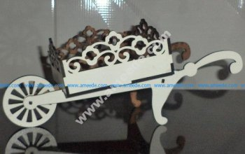 Cart 3D Puzzle Wooden