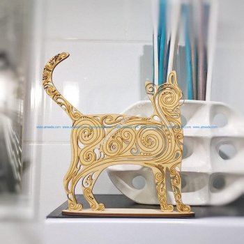 Cat Decoration 3D Puzzle
