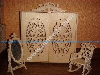 Children's furniture cnc puzzle plans