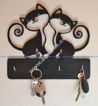 DIY Wall Key Holders
