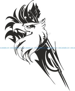 Eagle predatory bird Sticker