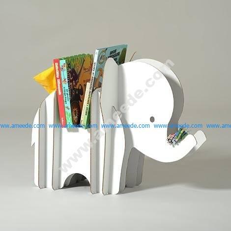 Elephant Storage 3D Puzzle