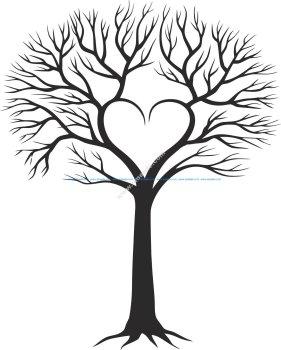 Family Tree With Heart