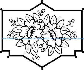 Floral Design 18 EPS