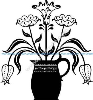 Flowerpot EPS
