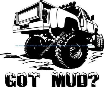 Got Mud Sticker
