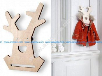 Hanger Animal Shape