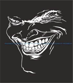 Here is the Joker! Sticker