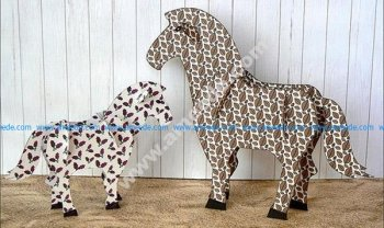 Horse 3d Puzzle