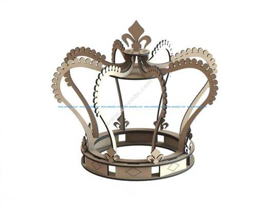 Laser Cut Royal Crown